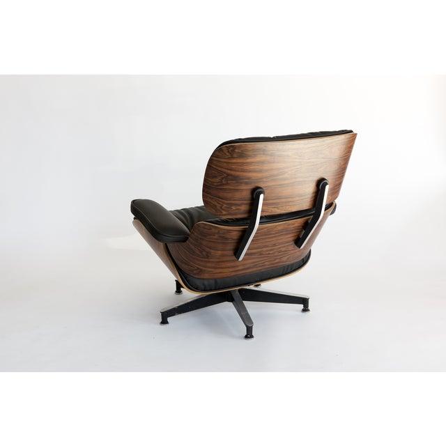 Eames 670 + 671 Lounge Chair & Ottoman - Image 3 of 7