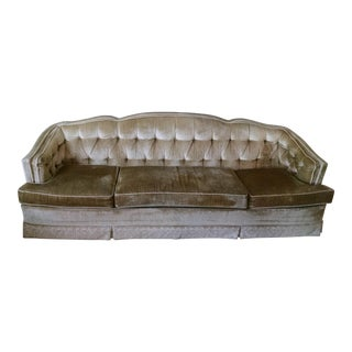 Vintage Hollywood Regency Sofa