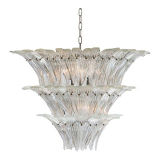 Barovier and Toso Palmette Chandelier