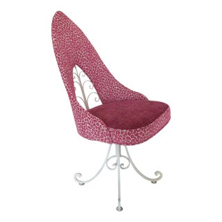 Wrought Iron in the Pink Chair, Kravet Fabric