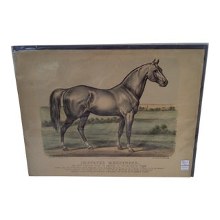 Original Currier & Ives Lithograph, 1880