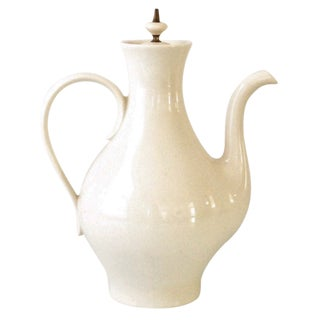 Mid-Century Modern Porcelain Coffee Pot