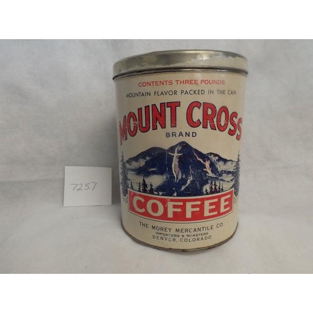 Image of Morey Mercantile Colorado Mount Cross Coffee Tin