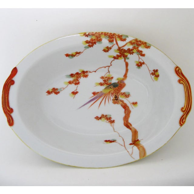 Japanese Porcelain Serving Bowl - Image 2 of 7