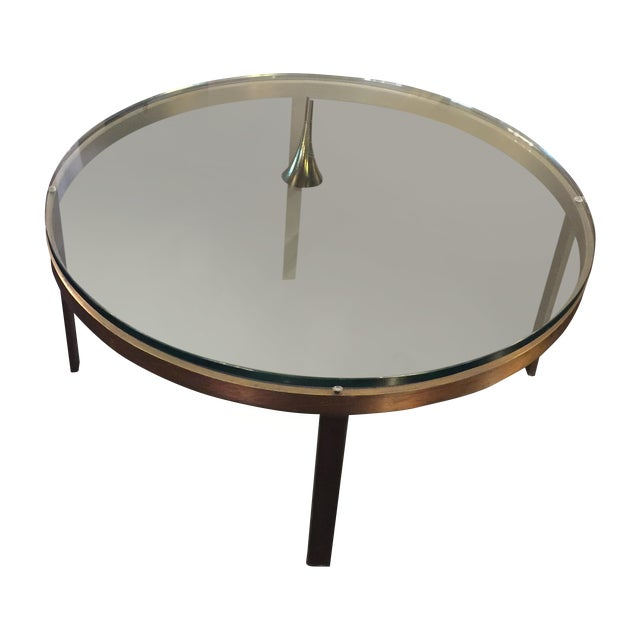 Bronzed Steel Coffee Table by Nicos Zographos - Image 1 of 7