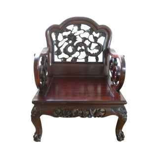 Antique Chinese Dragon Chair