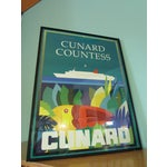 Image of 1983 Cunard Line Travel Posters - A Pair