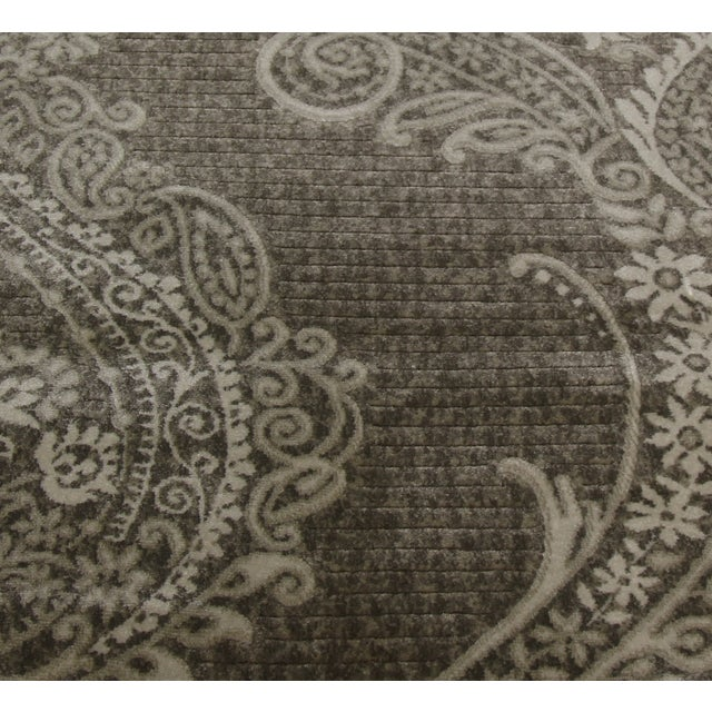 Gray Damask Rug - 3' X 5' - Image 4 of 4
