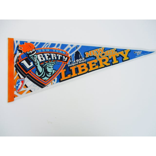 New York City Mets Knicks Pennants - Set of 5 - Image 9 of 10