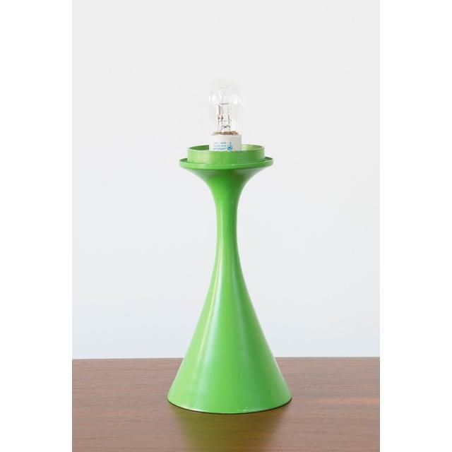 Rare Green Laurel Mushroom Lamp - Image 3 of 6