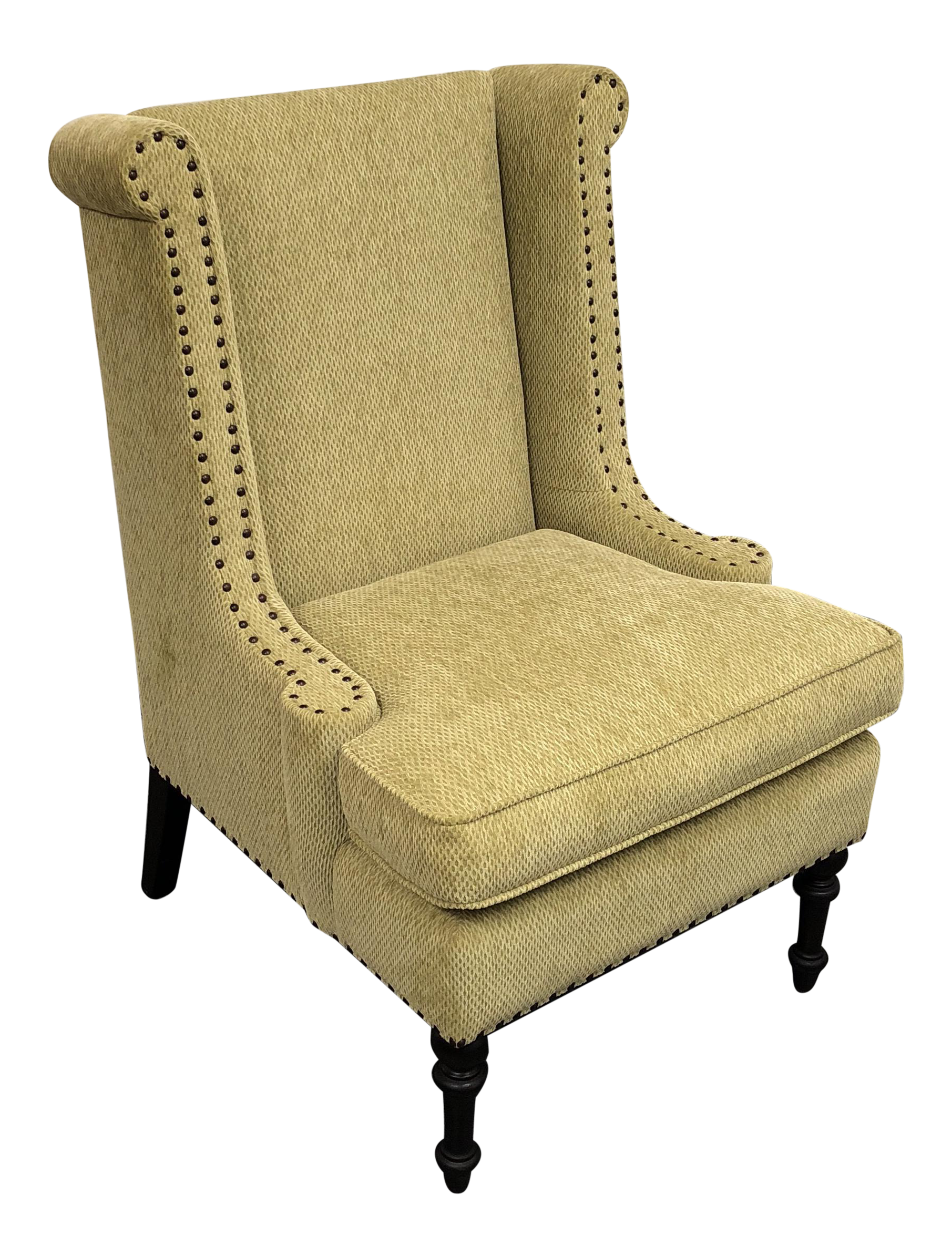 Custom Upholstered Kravet Fabric Arm Chair