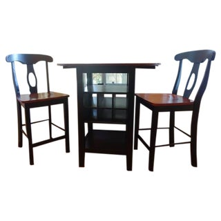 Cb2 Table & Chairs Set