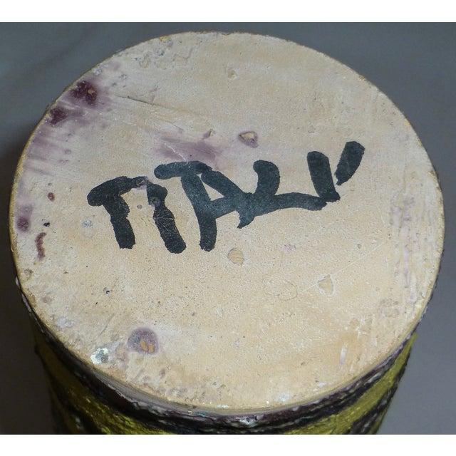 Mid Century Gambone Style Italian Vase - Image 7 of 9