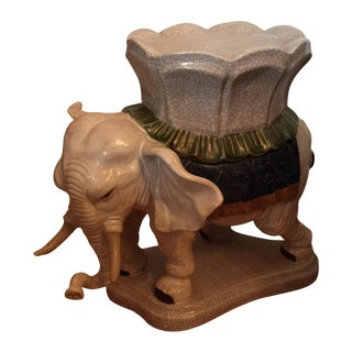 Ceramic Elephant Drink Table