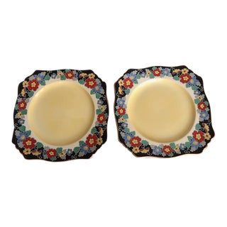 Royal Winton Grimwades Cake Plates - A Pair
