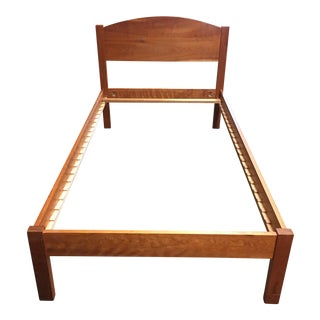 Richard Bissell Solid Cherry Twin Bed