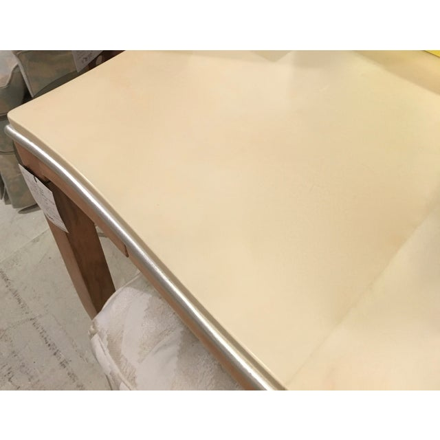 Lacquered Goatskin Game Table - Image 10 of 10