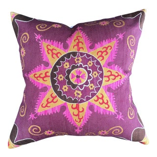 Antique Suzani Pillow