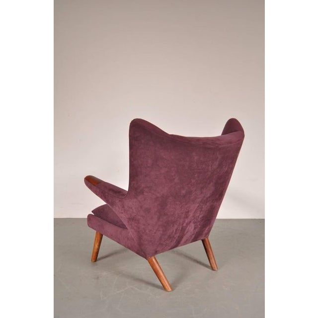 """Image of """"Papa Bear"""" Chair by Hans J. Wegner for A.P. Stolen, Denmark, circa 1950"""