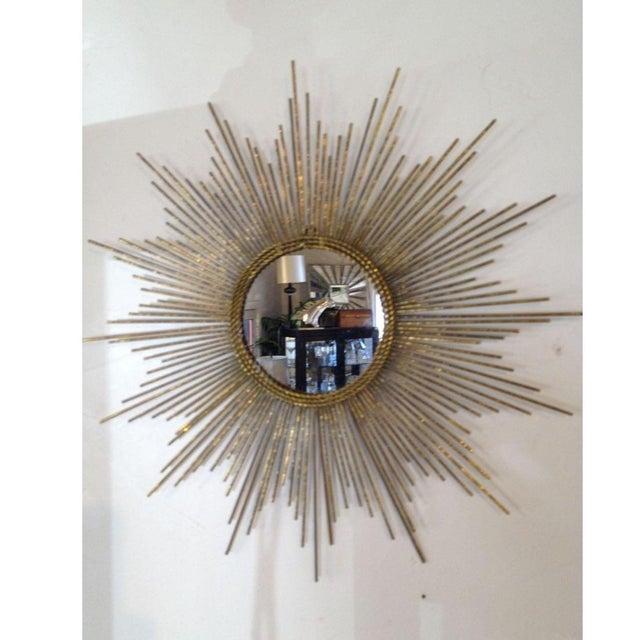 Gold Sun Burst Mirror - Image 2 of 6