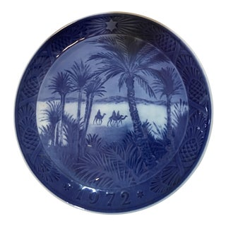 Danish Christmas Decorative Plate