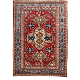 """Traditional Hand Knotted Area Rug - 5'10"""" X 8'"""