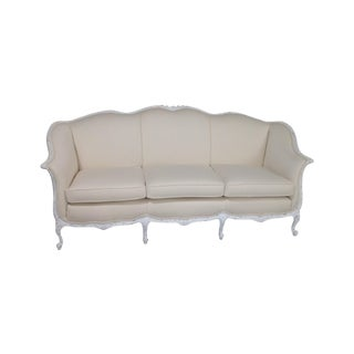 Antique Country French Shabby Chic Sofa