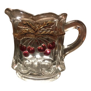 Crystal Decorated Creamer Glassware - Mosser Glassware
