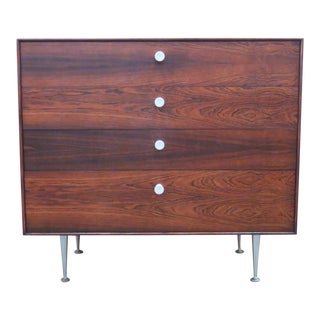 "Vintage George Nelson Rosewood ""Thin Edge"" Chest"
