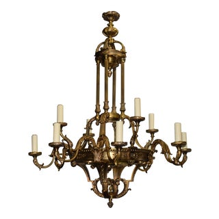 Antique Chandelier, Neoclassical Chandelier