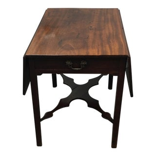 Antique 1760s Pembroke Drop Leaf Table
