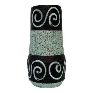 Scheurich Vintage West German Pottery Vase