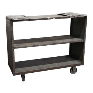 Salvaged Industrial Steel Cart