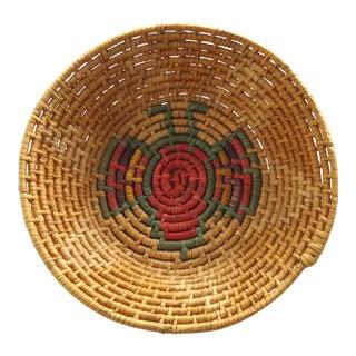 Vintage Butterfly Basket