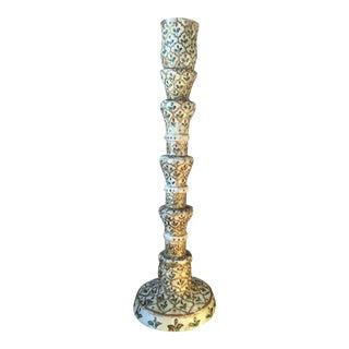 Vintage Boho Camel Bone Candle Holder