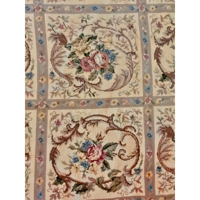 French Aubusson Needlepoint Rug - 8′6″ × 11′6″ - Image 8 of 11