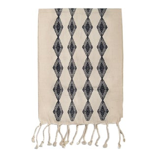 Mexican Boho Chic Handwoven Diamond Patterned Table Runner