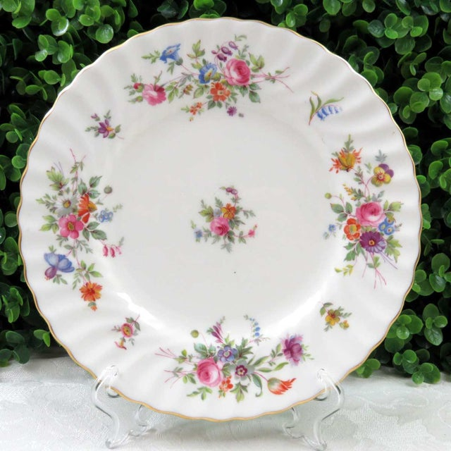 Vintage Mismatched China Dessert Plates - Set of 4 - Image 6 of 8