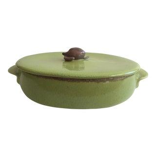 Large Winfield Pottery Casserole Dish