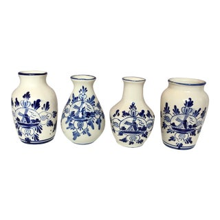Delft Vases - Set of 4