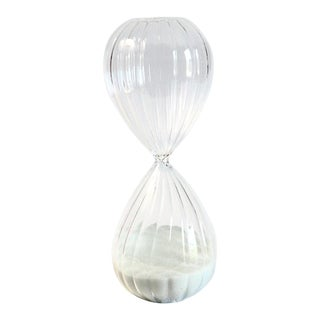 Minimalist Glass Hour Glass