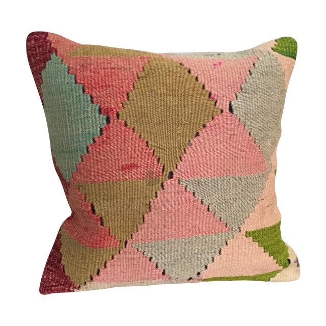 Vintage Kilim Throw Pillow - Image 1 of 5