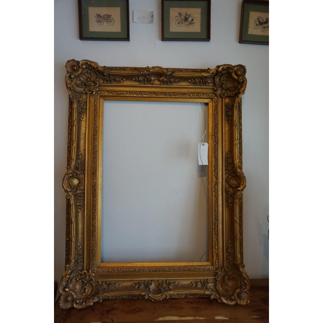 Oversized Gilded Picture Frame - Image 2 of 4