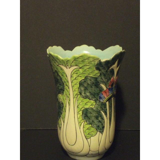 Antique Oriental Celery Vase - Image 5 of 7