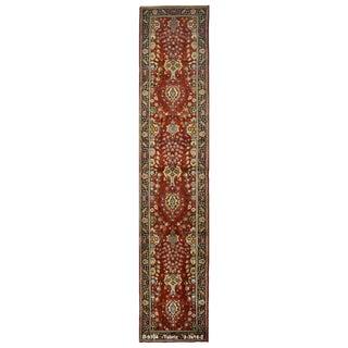 Vintage Persian Tabriz Rug - 3′3″ × 16′2″