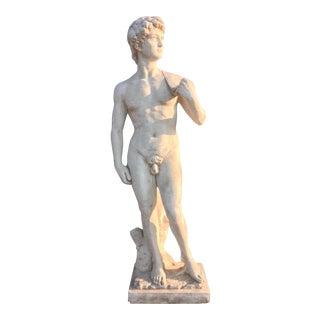 David Garden Statue