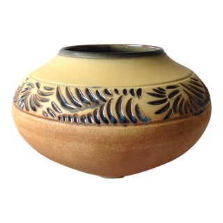 Paul M. Jeselskis Studio Ceramic Pottery Vase