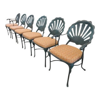 Vintage Shell Back Chairs - Set of 6