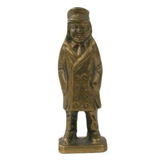 Brass Man Figurine
