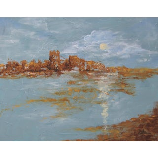 """Golden Citadel"" Painting by Celeste Plowden"